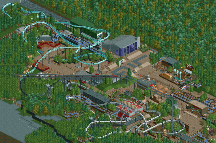 RCT2 Forbidden Valley